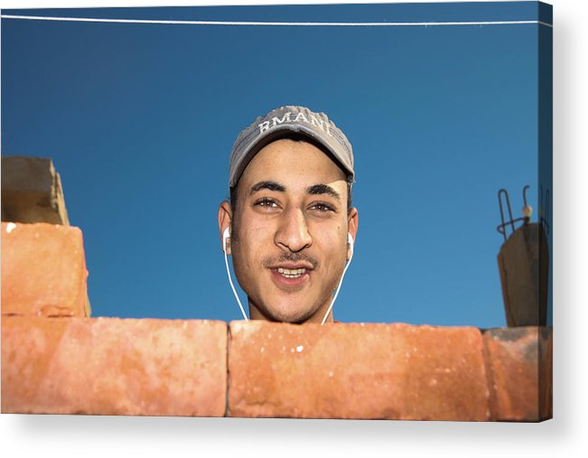 Al-ahyaa Acrylic Print featuring the photograph What No Work by Jez C Self