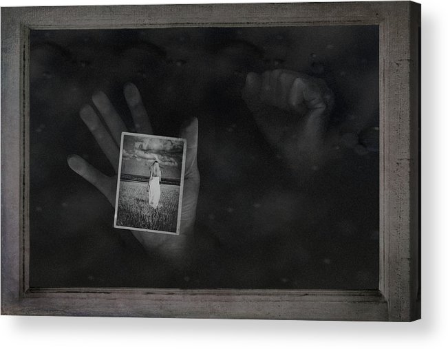 Hand Acrylic Print featuring the photograph Why Did You Leave Me by Tom Mc Nemar