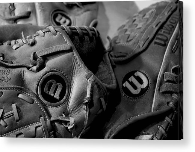 Baseball Acrylic Print featuring the photograph Wilson 3 by Jame Hayes