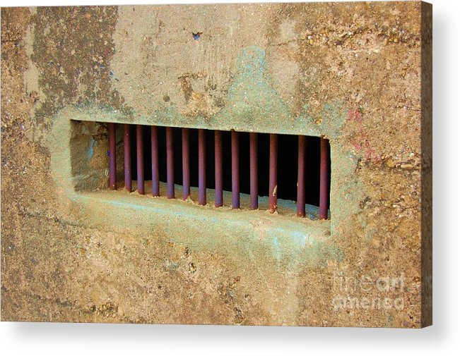 Jail Acrylic Print featuring the photograph Window To The World by Debbi Granruth
