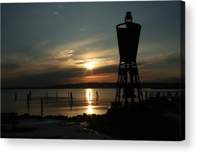 Landscape Acrylic Print featuring the photograph Winter Dawn by Doug Mills