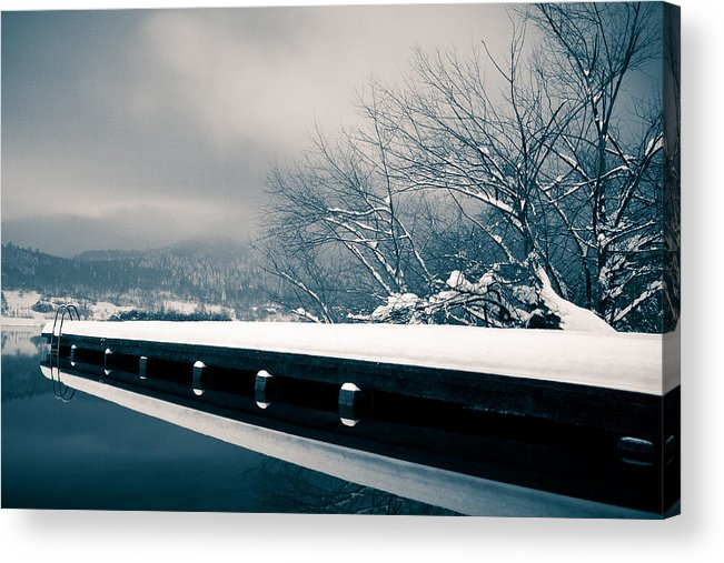 Winter Acrylic Print featuring the photograph Winter Idyl by Luka Matijevec