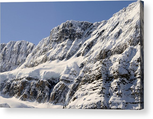 Snow Acrylic Print featuring the photograph Winter Rockies by Tiffany Vest