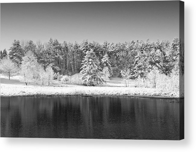 Winter Acrylic Print featuring the photograph Winter Scene 2 by Edward Myers