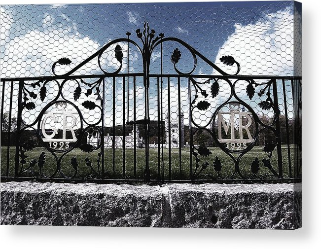 Castle Acrylic Print featuring the photograph Within Or Without by HweeYen Ong