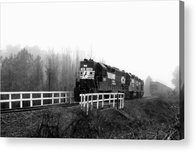 Pat Turner Acrylic Print featuring the photograph Working by Pat Turner