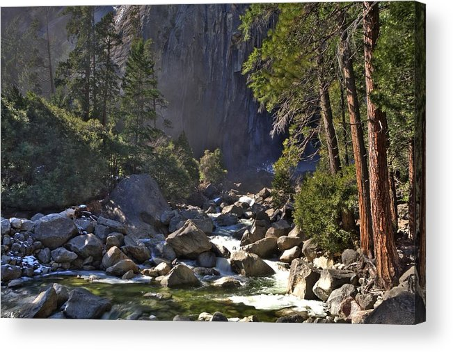 Yosemite Acrylic Print featuring the photograph Yosemite by Paul Owen