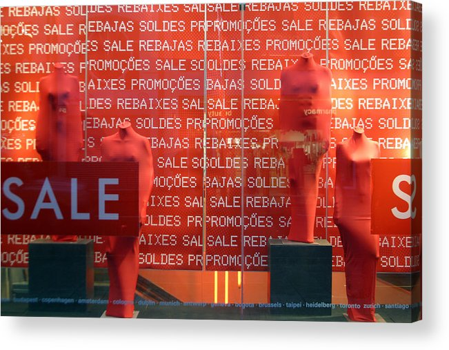Jez C Self Acrylic Print featuring the photograph You Cant Buy Us by Jez C Self
