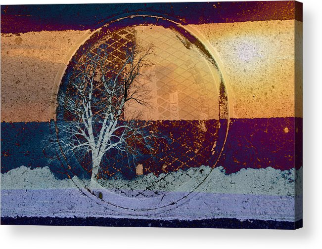 Abstracts Acrylic Print featuring the photograph You Only See What You Know by Jan Amiss Photography