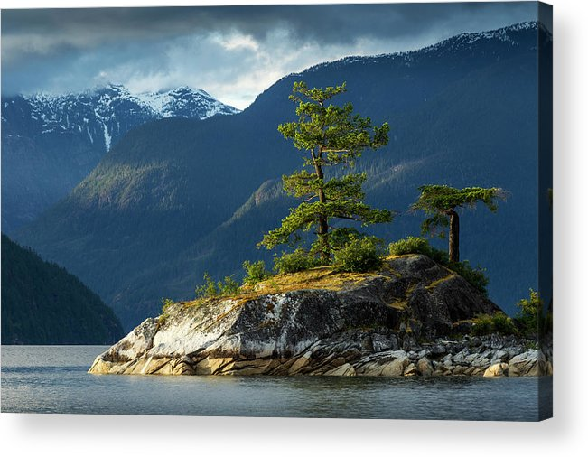Scenics Acrylic Print featuring the photograph Desolation Sound, Bc, Canada by Paul Souders