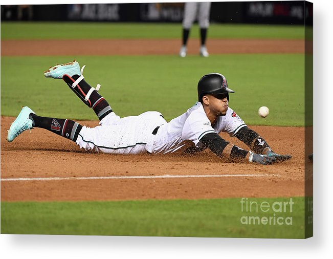 Playoffs Acrylic Print featuring the photograph National League Wild Card Game - by Norm Hall