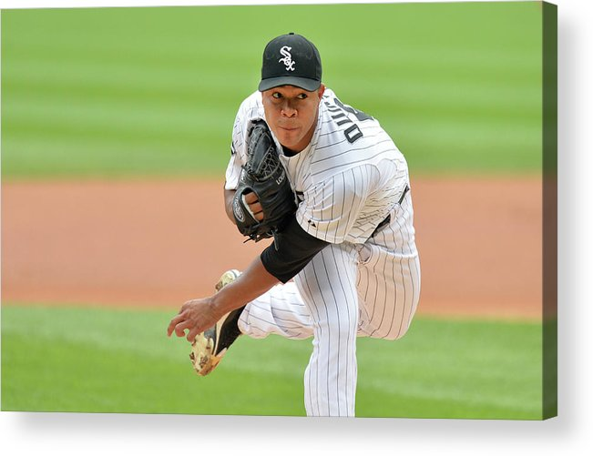 American League Baseball Acrylic Print featuring the photograph Seattle Mariners V Chicago White Sox 1 by Brian Kersey