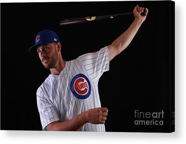 Media Day Acrylic Print featuring the photograph Chicago Cubs Photo Day 12 by Gregory Shamus