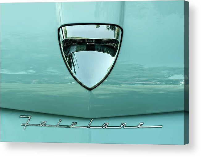 Vehicle Acrylic Print featuring the photograph 1958 Ford Fairlane by Scott Norris