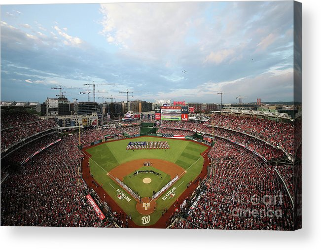 American League Baseball Acrylic Print featuring the photograph 89th Mlb All-star Game, Presented By by Win Mcnamee