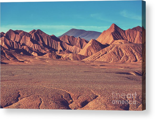 Mountains Acrylic Print featuring the photograph Landscapes Of Northern Argentina 2 by Galyna Andrushko