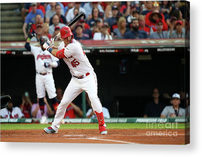 People Acrylic Print featuring the photograph 2019 Mlb All-star Game, Presented By 2019 by Gregory Shamus