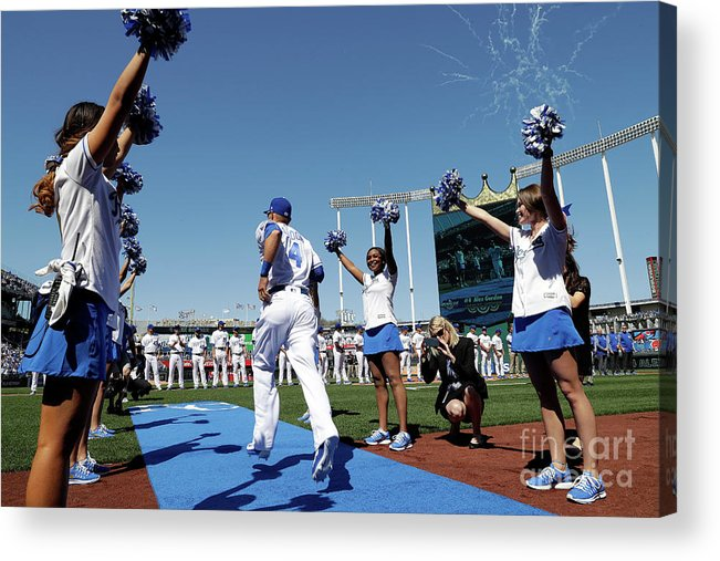 People Acrylic Print featuring the photograph Oakland Athletics V Kansas City Royals 4 by Jamie Squire