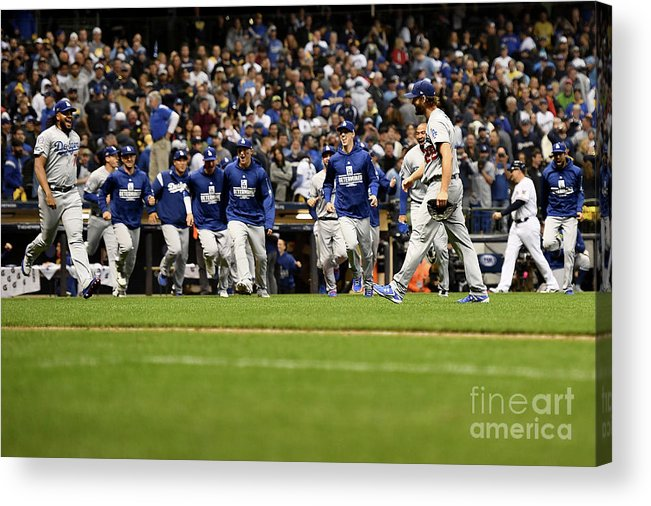 American League Baseball Acrylic Print featuring the photograph League Championship Series - Los 5 by Stacy Revere