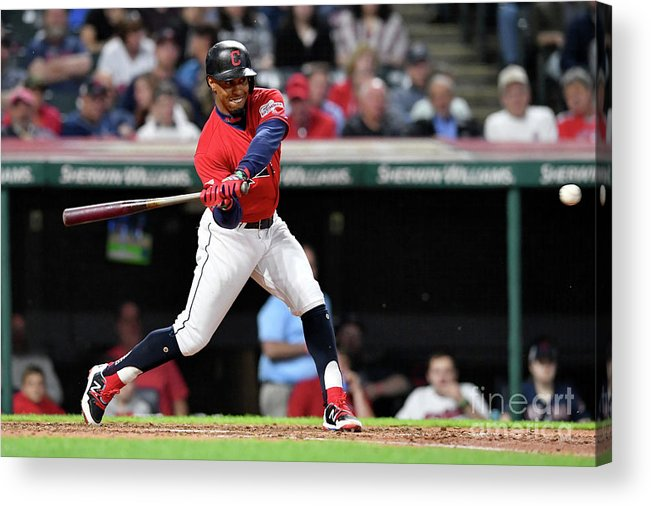 People Acrylic Print featuring the photograph Tampa Bay Rays V Cleveland Indians 6 by Jason Miller