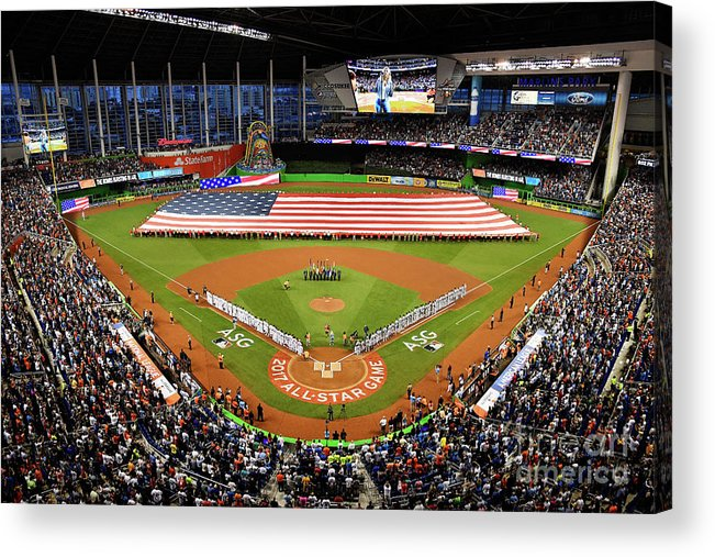 American League Baseball Acrylic Print featuring the photograph 88th Mlb All-star Game by Mark Brown