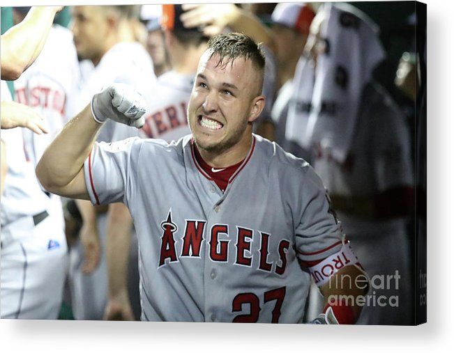 People Acrylic Print featuring the photograph 89th Mlb All-star Game, Presented By by Rob Carr
