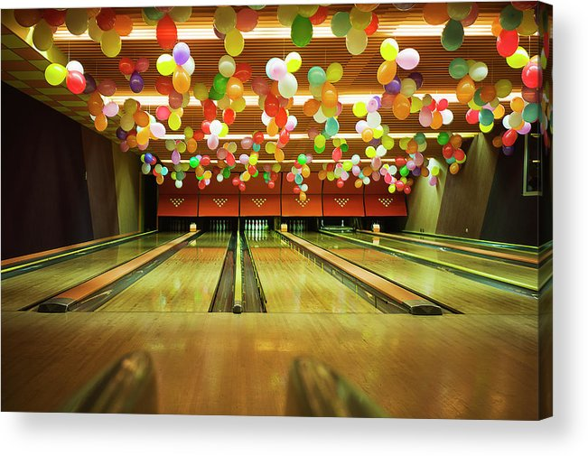 Tranquility Acrylic Print featuring the photograph Bowling by Olive