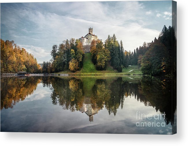Kremsdorf Acrylic Print featuring the photograph Castle On The Hill by Evelina Kremsdorf