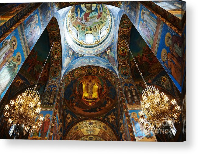 Christianity Acrylic Print featuring the photograph Cathedral by Ivan kislitsin