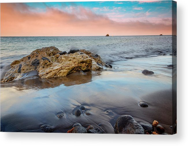 Channel Acrylic Print featuring the photograph Channel Islands National Park Vii by Ricky Barnard