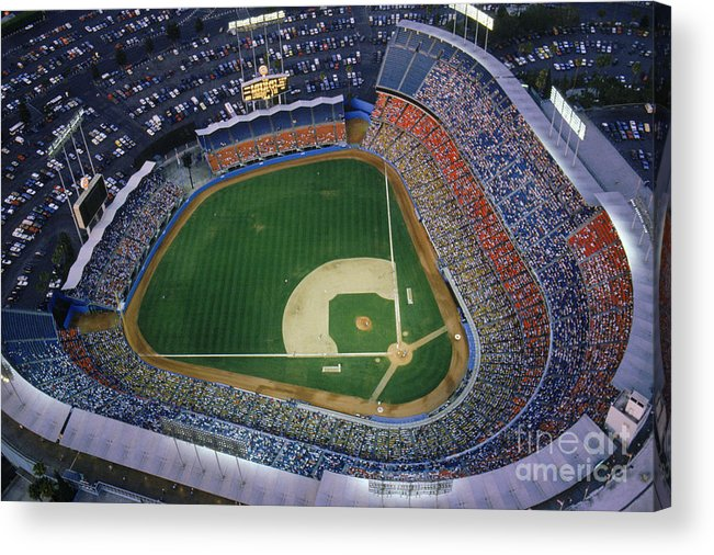 Viewpoint Acrylic Print featuring the photograph Dodger Stadium by Getty Images