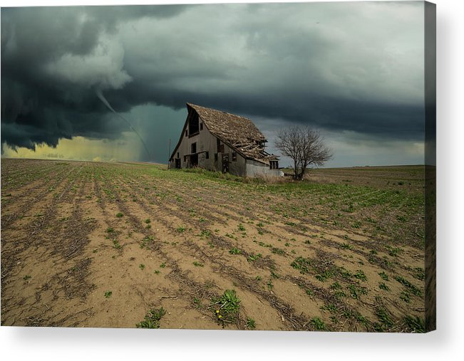 Tornado Acrylic Print featuring the photograph Doomsday by Aaron J Groen