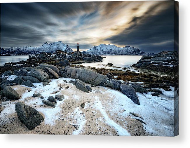Landscape Acrylic Print featuring the photograph Guardian Of The North by Adam Pachula