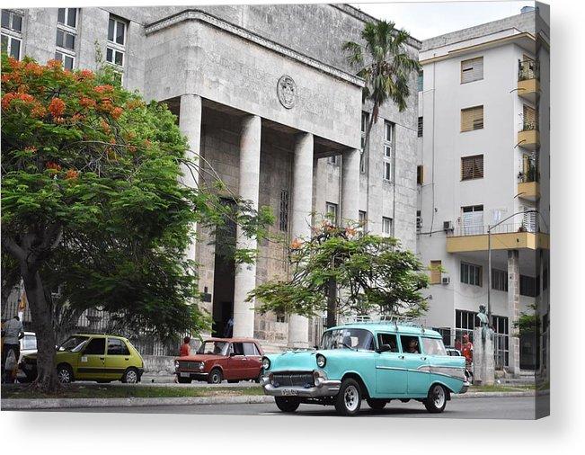 Havana Acrylic Print featuring the photograph Havana by Cassidy Marshall