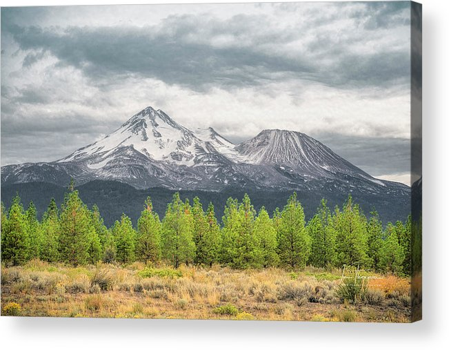 California Acrylic Print featuring the photograph Mount Shasta by Jim Thompson