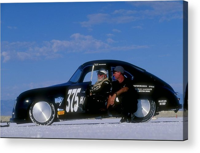 Sports Car Acrylic Print featuring the photograph Paul Swanson by David Taylor