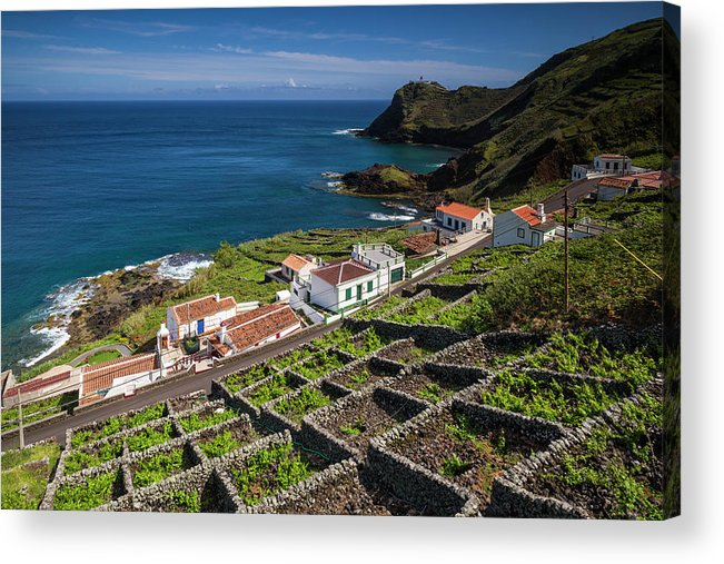 Azores Acrylic Print featuring the photograph Portugal, Azores, Santa Maria Island by Walter Bibikow