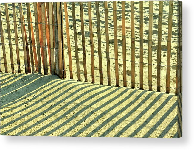 Beach Acrylic Print featuring the photograph Sandy Pinstripes by JAMART Photography