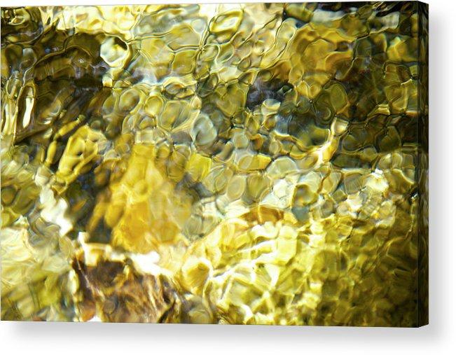 Purity Acrylic Print featuring the photograph Water by Noriyuki Araki