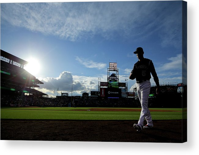 People Acrylic Print featuring the photograph Carlos Gonzalez by Justin Edmonds