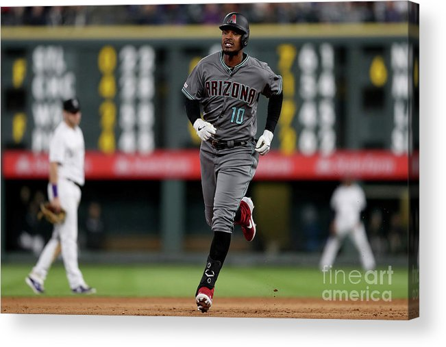 People Acrylic Print featuring the photograph Adam Jones by Matthew Stockman