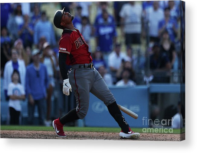 People Acrylic Print featuring the photograph Adam Jones by Yong Teck Lim