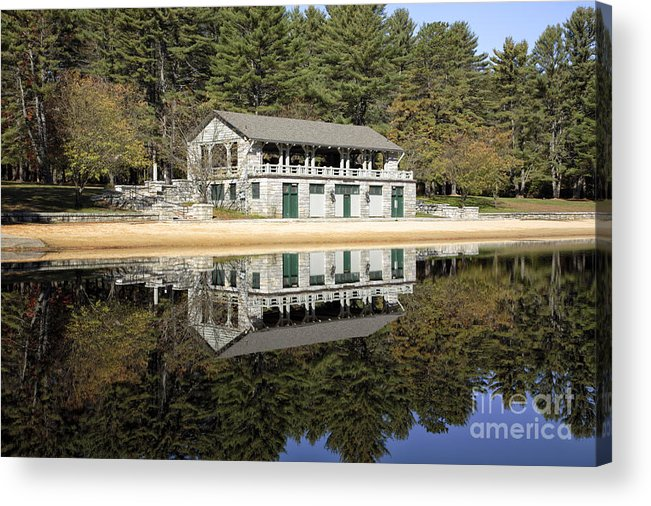New England Acrylic Print featuring the photograph Bear Brook State Park - Allenstown New Hampshire by Erin Paul Donovan