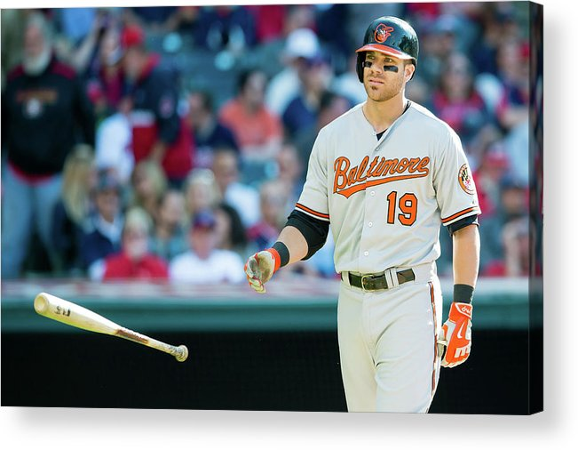 Three Quarter Length Acrylic Print featuring the photograph Chris Davis by Jason Miller