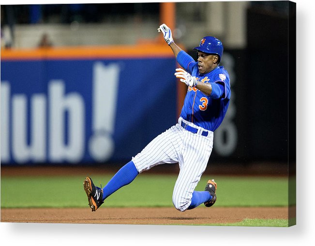 American League Baseball Acrylic Print featuring the photograph Curtis Granderson by Taylor Baucom