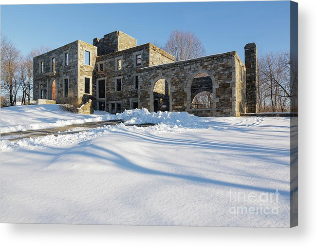 Landscape Acrylic Print featuring the photograph Goddard Mansion - Cape Elizabeth Maine by Erin Paul Donovan