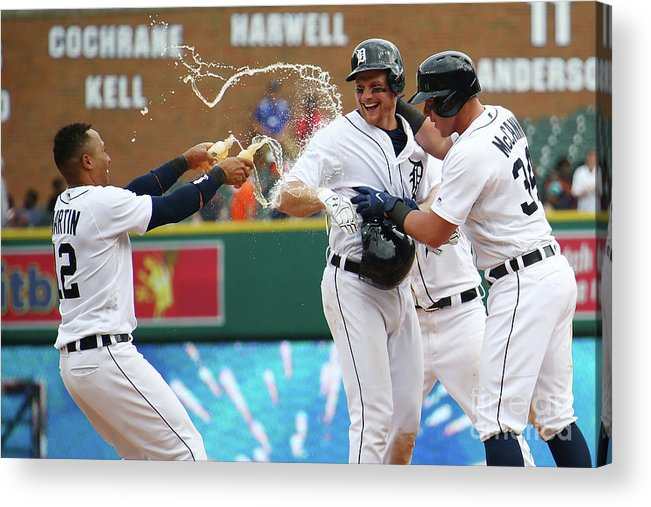 Three Quarter Length Acrylic Print featuring the photograph James Mccann And John Hicks by Gregory Shamus