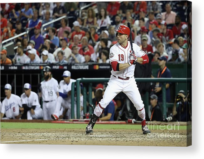 People Acrylic Print featuring the photograph Joey Votto by Rob Carr