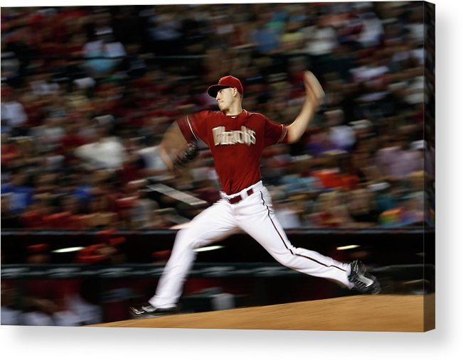 People Acrylic Print featuring the photograph Patrick Corbin by Christian Petersen