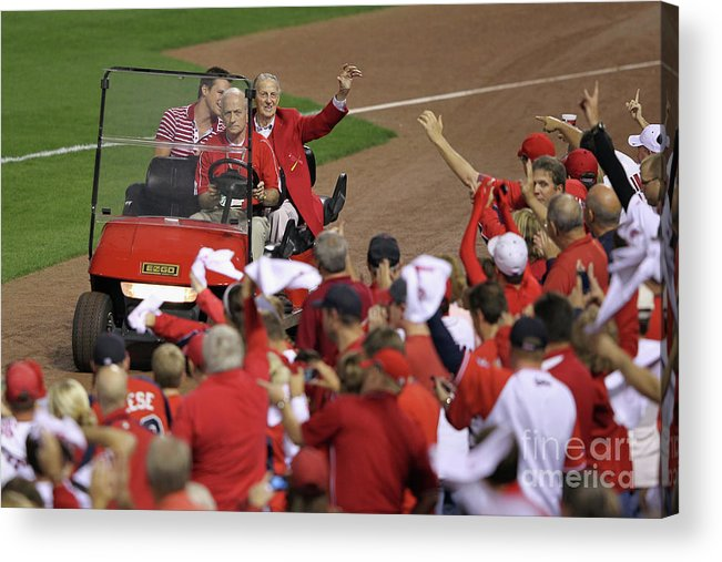 Emergence Acrylic Print featuring the photograph Stan Musial by Jamie Squire